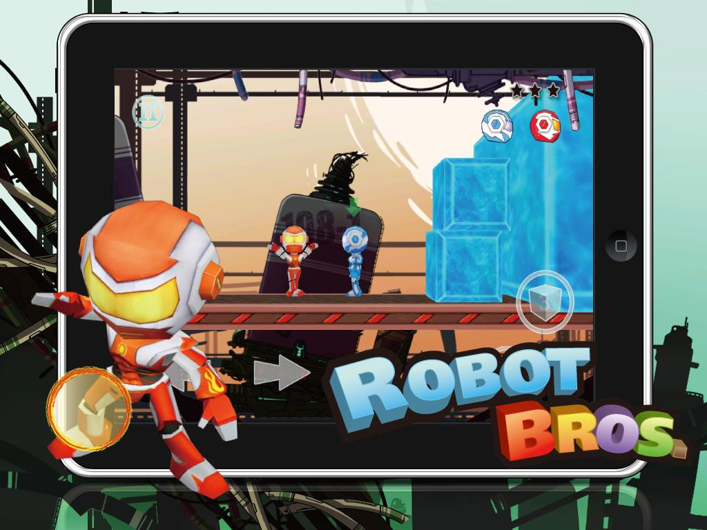 Robot Bros- screenshot