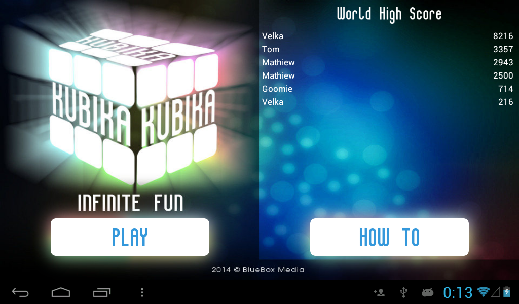 Kubika Infinite Fun - screenshot