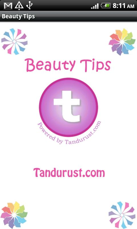 Beauty Tips from Tandurust.com - screenshot