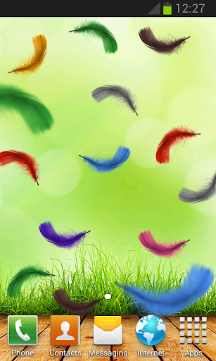 Feather Live Wallpaper HD