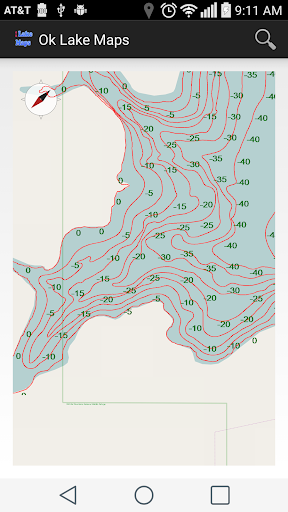 Oklahoma Lake Maps