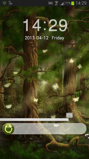 儲物櫃主題森林 GO Locker Theme Forest