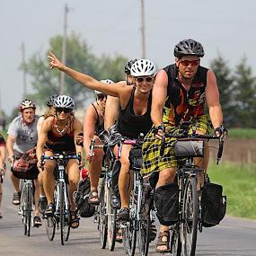 Sport Kilt Biking by Edwin Montgomery - Sports & Fitness Cycling ( kilt, bike, bud ride 2013, cycling, biking, sport kilts )