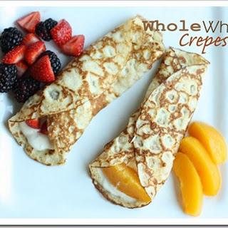 Whole Wheat Crepes.