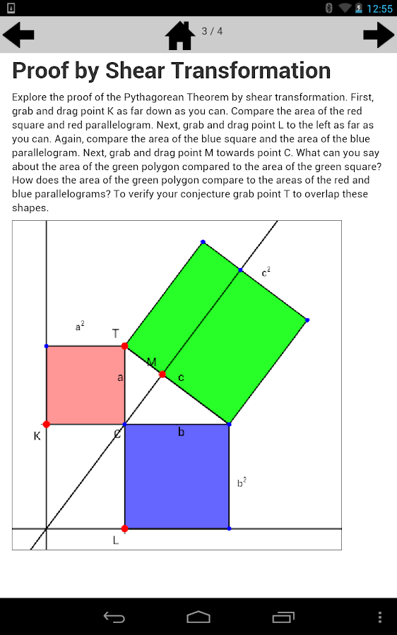 Pythagorean Theorem 8.G.6- screenshot
