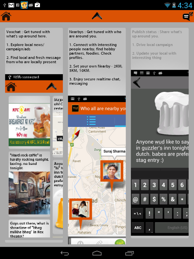 Yo! : Be Social At Local - screenshot