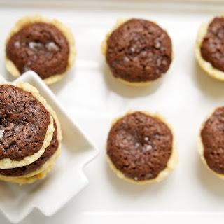 Salty Brownie Tassies