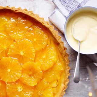 Orange And Caramel Tart