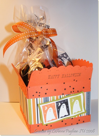 Halloween Die Cut Envelope Box