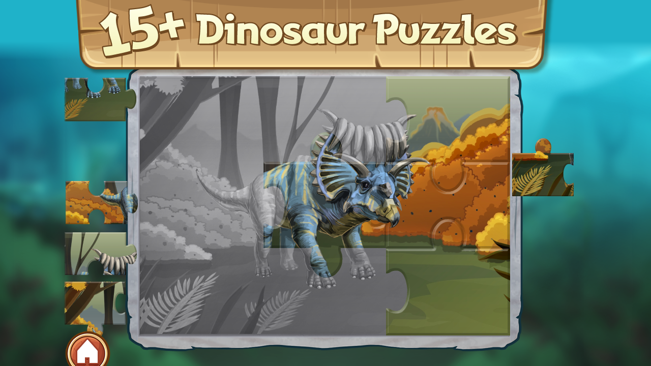 Discovery Kids Dinosaur Puzzle- screenshot