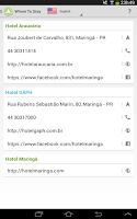 Screenshot of Visit Maringá