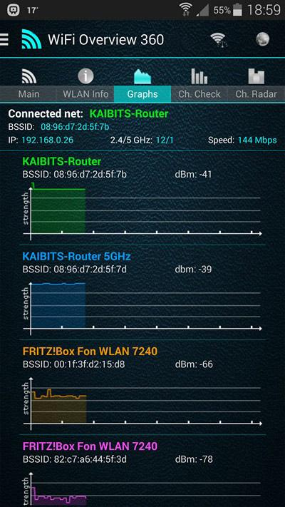 WiFi Overview 360- screenshot