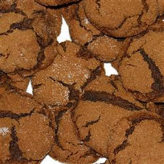 Molasses Sugar Cookies.