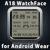 A18 WatchFace for Android Wear