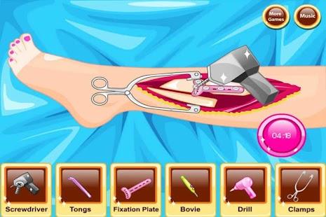 Leg Surgery - Kids Games