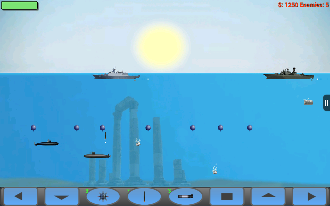 Submarine Attack! - screenshot