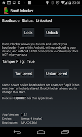 BootUnlocker for Nexus Devices Screenshot 2