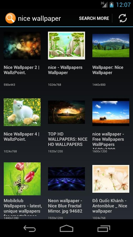 TCM Image Search - screenshot