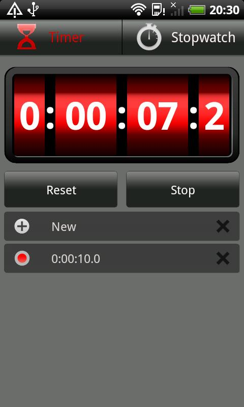 Stopwatch & Timer - screenshot