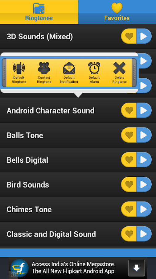 Digital RingTones - screenshot