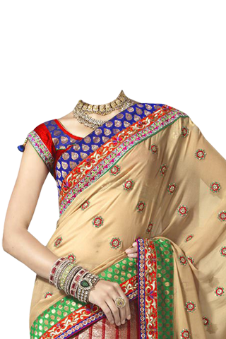 Indian Saree Fashion Photo