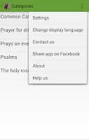 Screenshot of Catholic Prayer