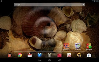 Screenshot of Water Touch Pro Live Wallpaper