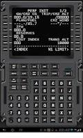 Screenshot of Virtual CDU 737