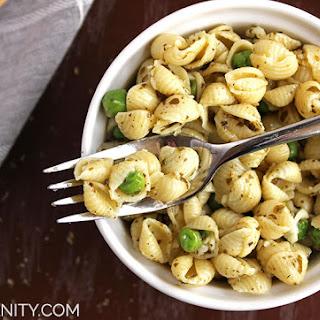 Peas and Shells Pesto Pasta Salad