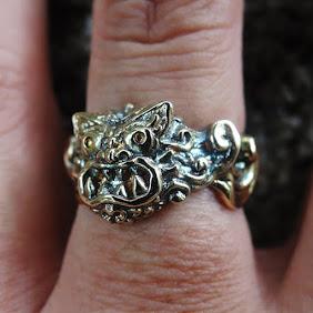シーサー指輪