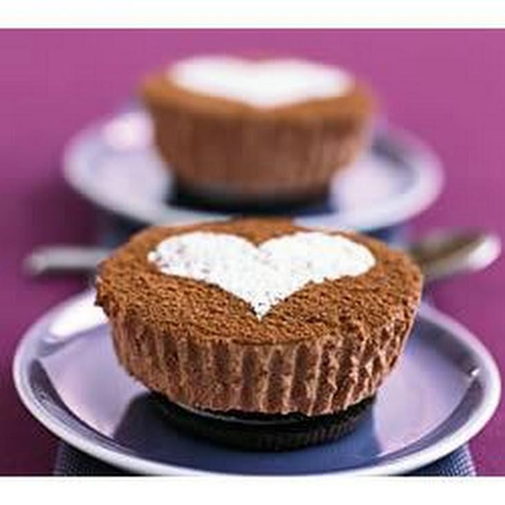 PHILADELPHIA Chocolate Cheesecakes for Two Recipe