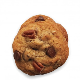 Chocolate Pecan Drop Cookies.