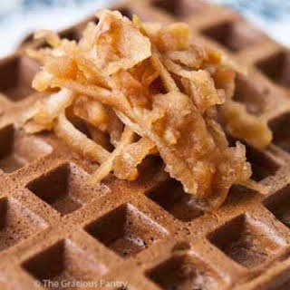 Clean Eating Protein Powder Waffles.