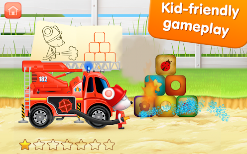 Firetrucks: rescue for kids - screenshot thumbnail