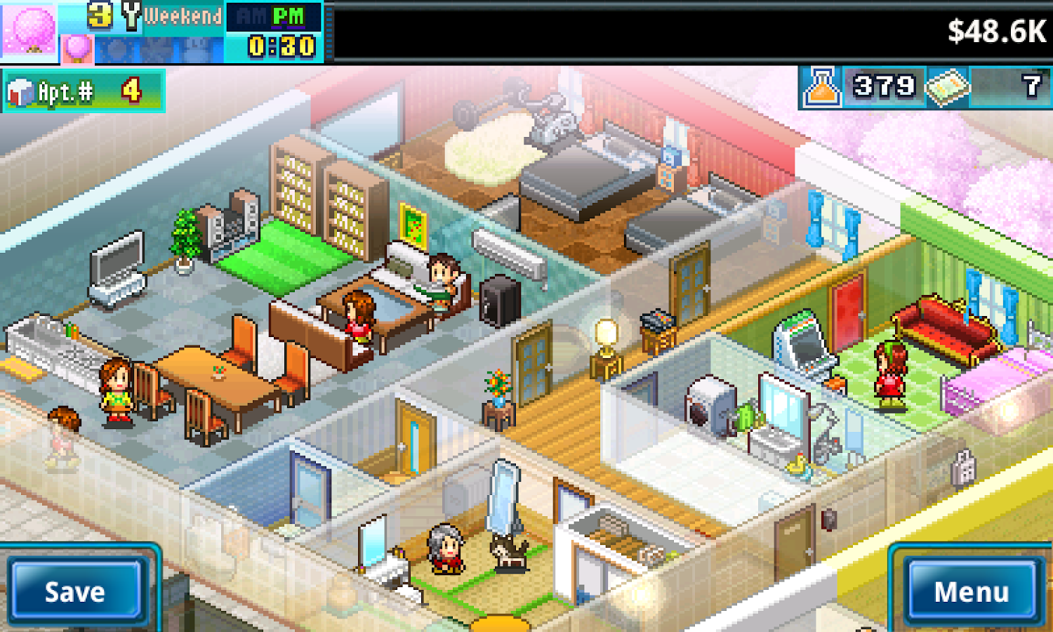 Dream house game room - Dream House Days Screenshot