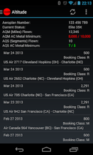 Canada Airline Account Manager - screenshot thumbnail
