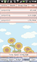 Screenshot of Account Book