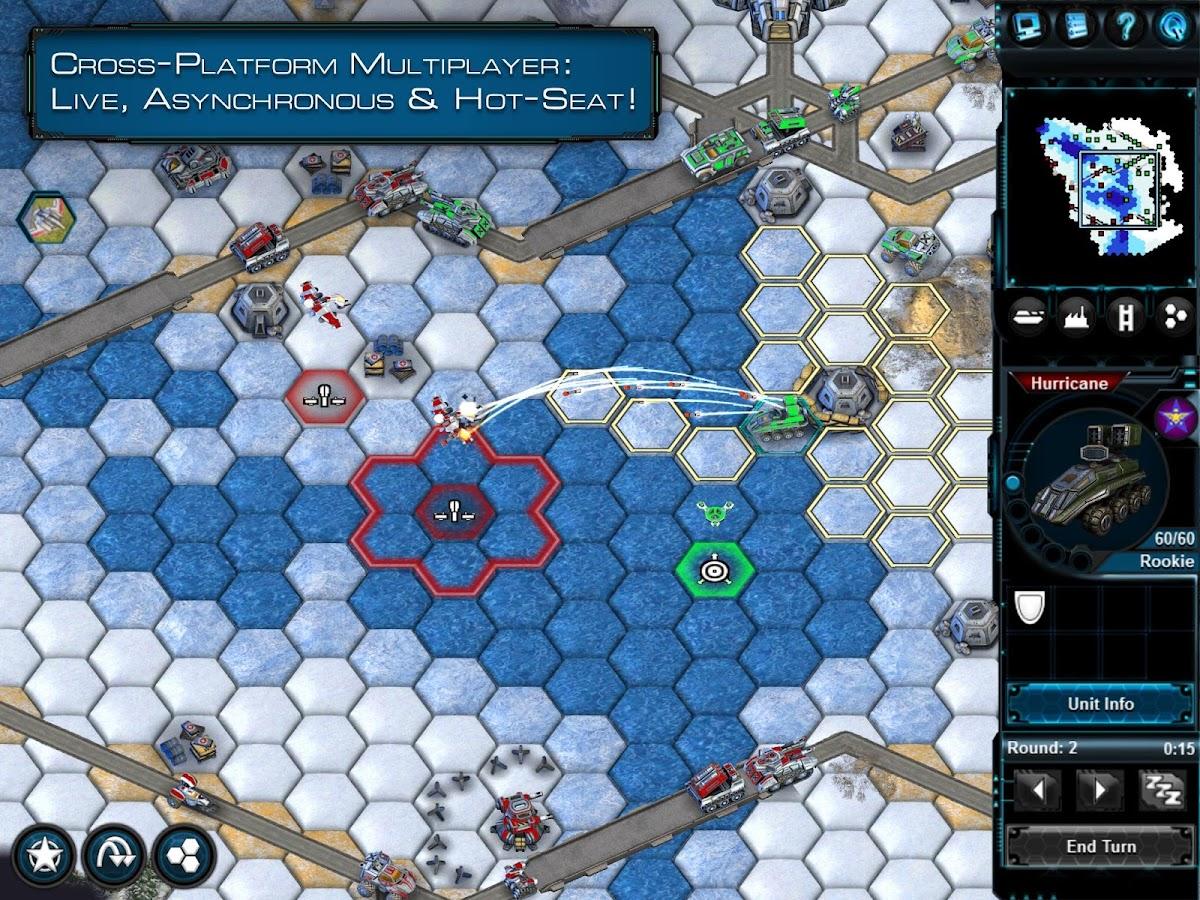 Battle Worlds: Kronos Screenshot
