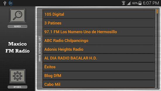Mexico FM Radio