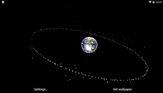 Earth Satellite Live Wallpaper Android Apps On Google Play - Satellite image of earth live