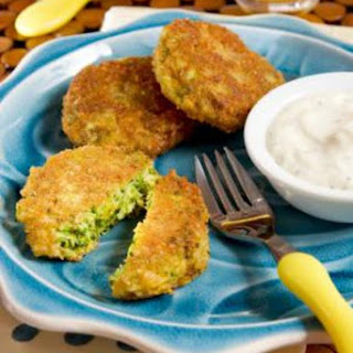 Broccoli Sweet Potato Cakes.