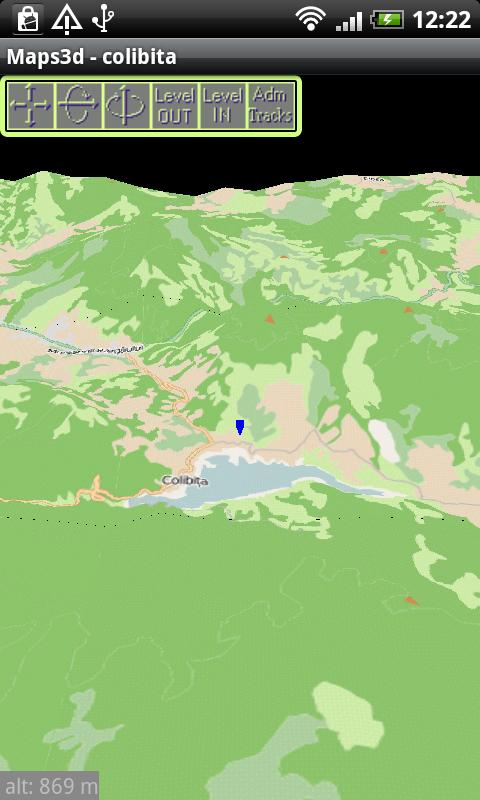 ElevMaps- screenshot