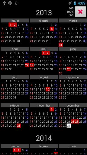 SI Holidays Annual Calendar