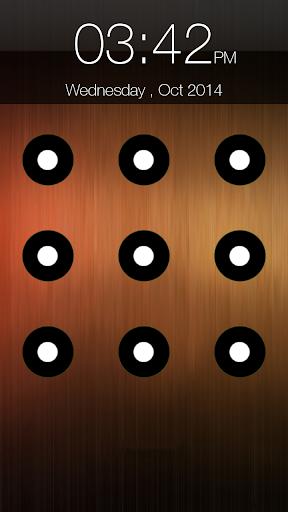 パターンの画面ロック