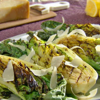 Grilled Simple Caesar Salad.