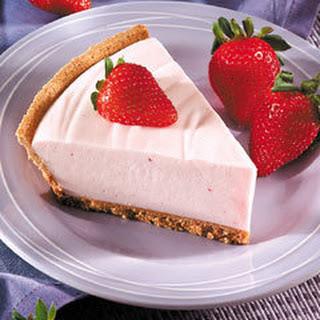 No-bake Berry Cheesecake.