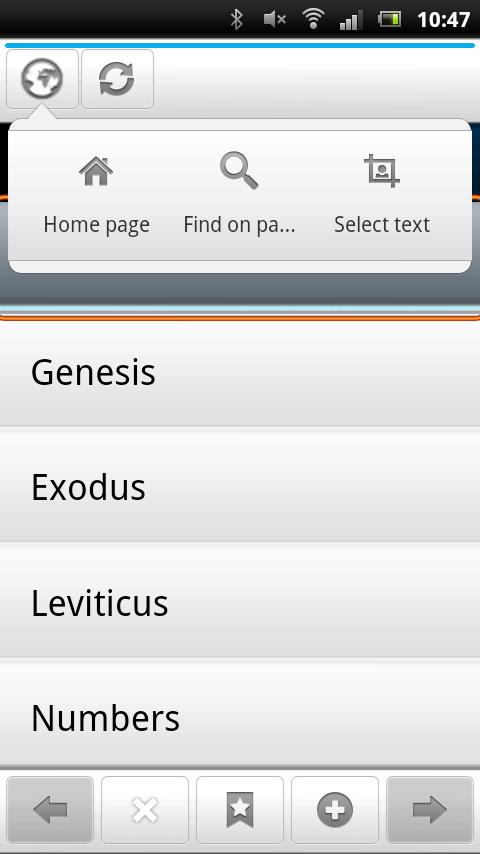 Holy Bible -King James Version- screenshot