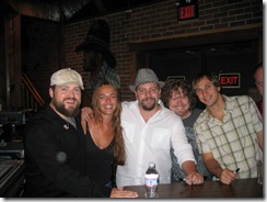 Line Dance girl with Zac Brown Band