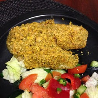 Corn Flake-Crusted Halibut