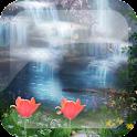 Paradise Waterfall L Wallpaper logo